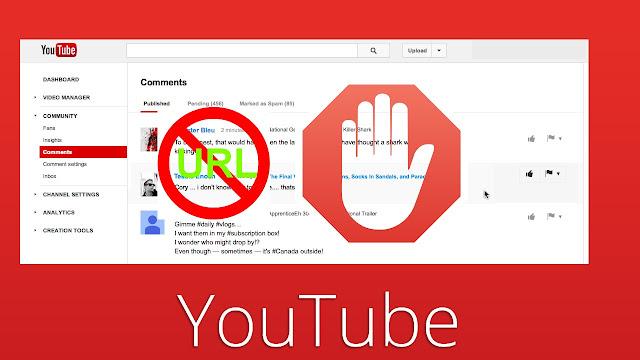 حظر التعليقات في اليوتيوب التي تحتوي على روابط، غير ملائم لكل المعلنين