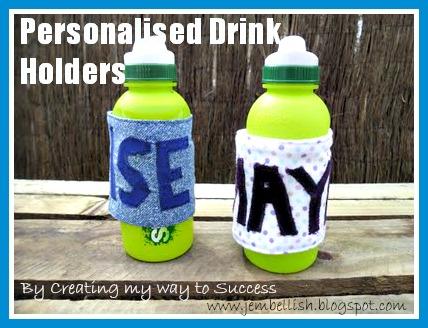 Personalised Drinks Holders