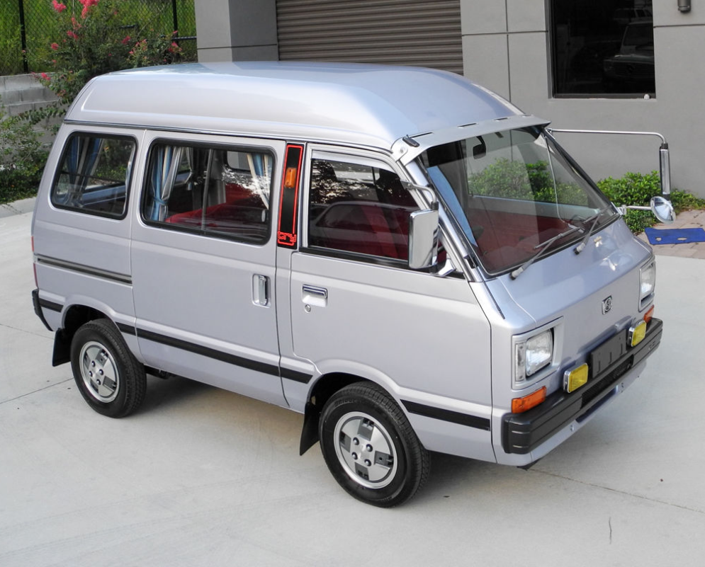 1980 Subaru Sambar Try Bus Jdm Kei Micro Mini Van Keep Cars Weird Wednesday