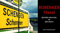 schengen vizesi izin onayı örneği