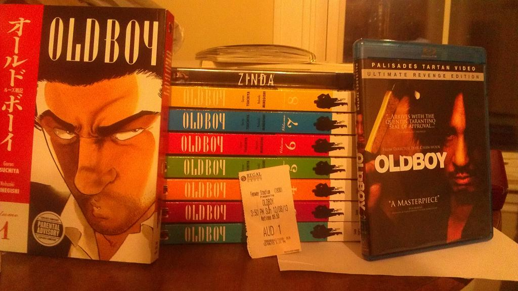 A lot of Oldboy