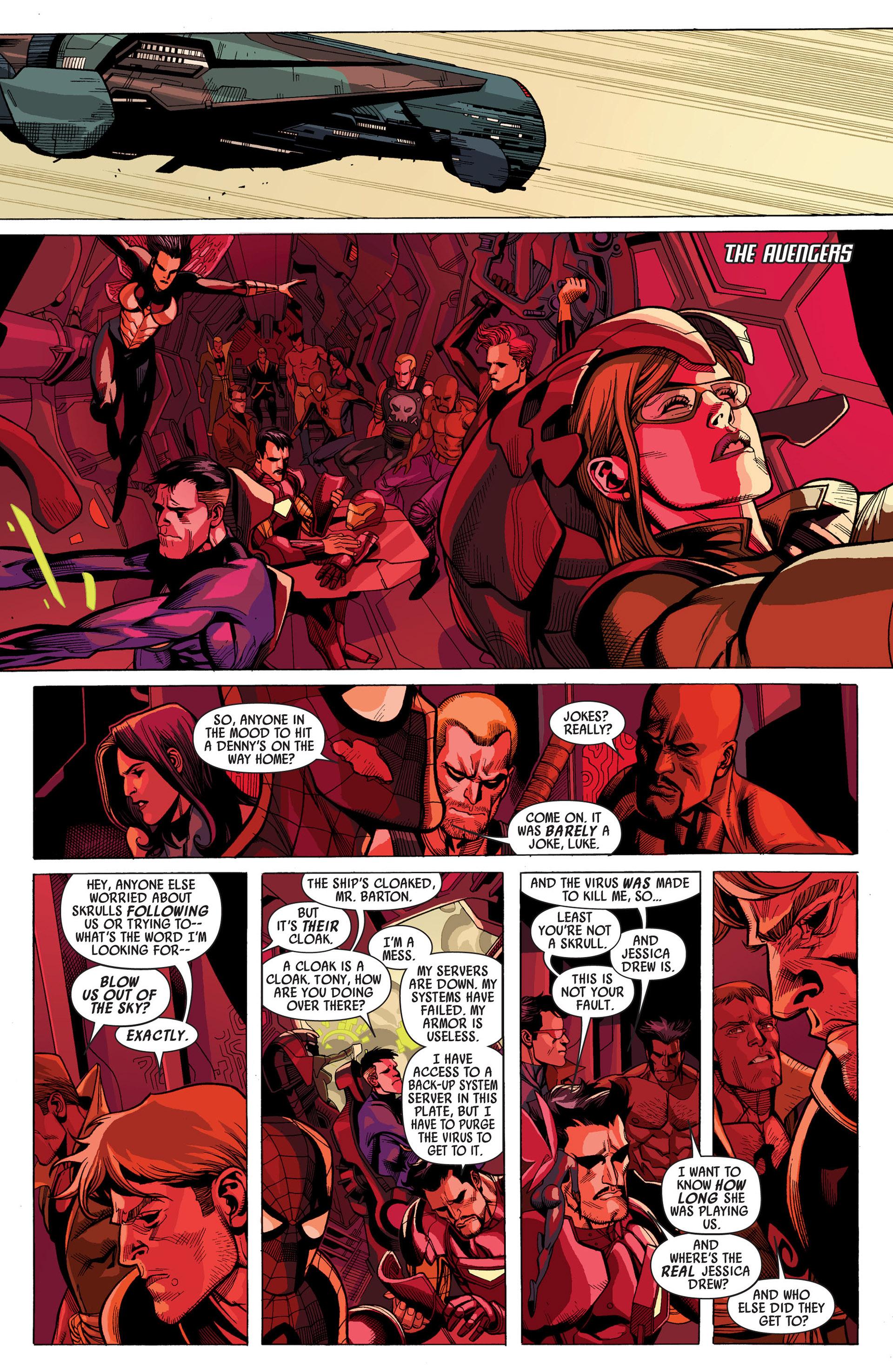 Read online Secret Invasion comic -  Issue #6 - 9
