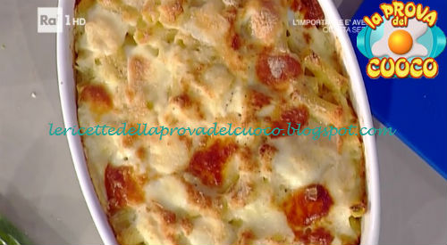 Rigatoni al cavolo cappuccio e toma ricetta Barzetti da Prova del Cuoco