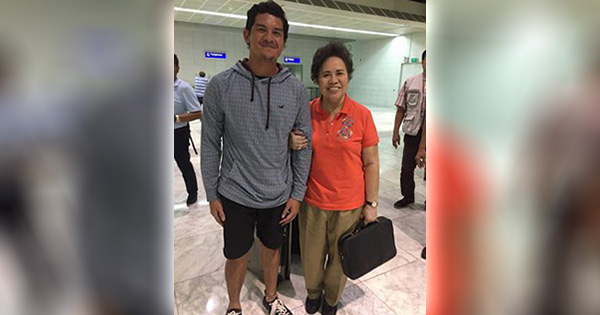 LOOK: Duterte's Son, Baste, Gets Starstruck With Miriam