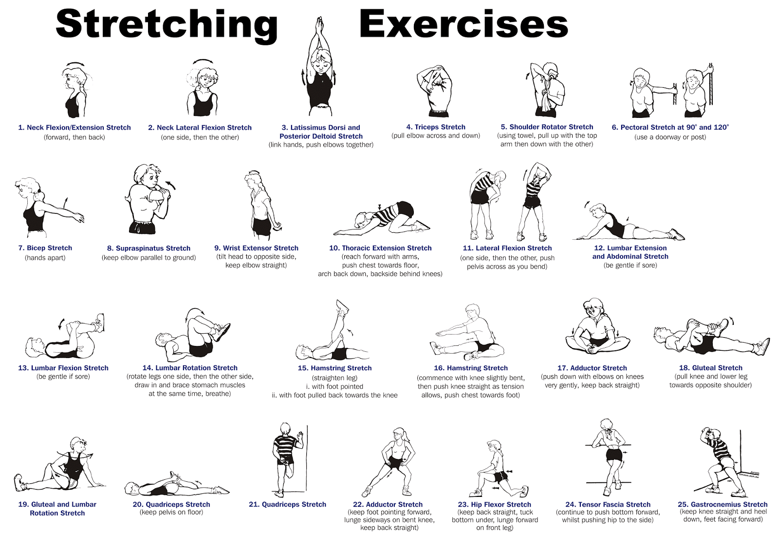 stretching exercise to prevent muscle cramp