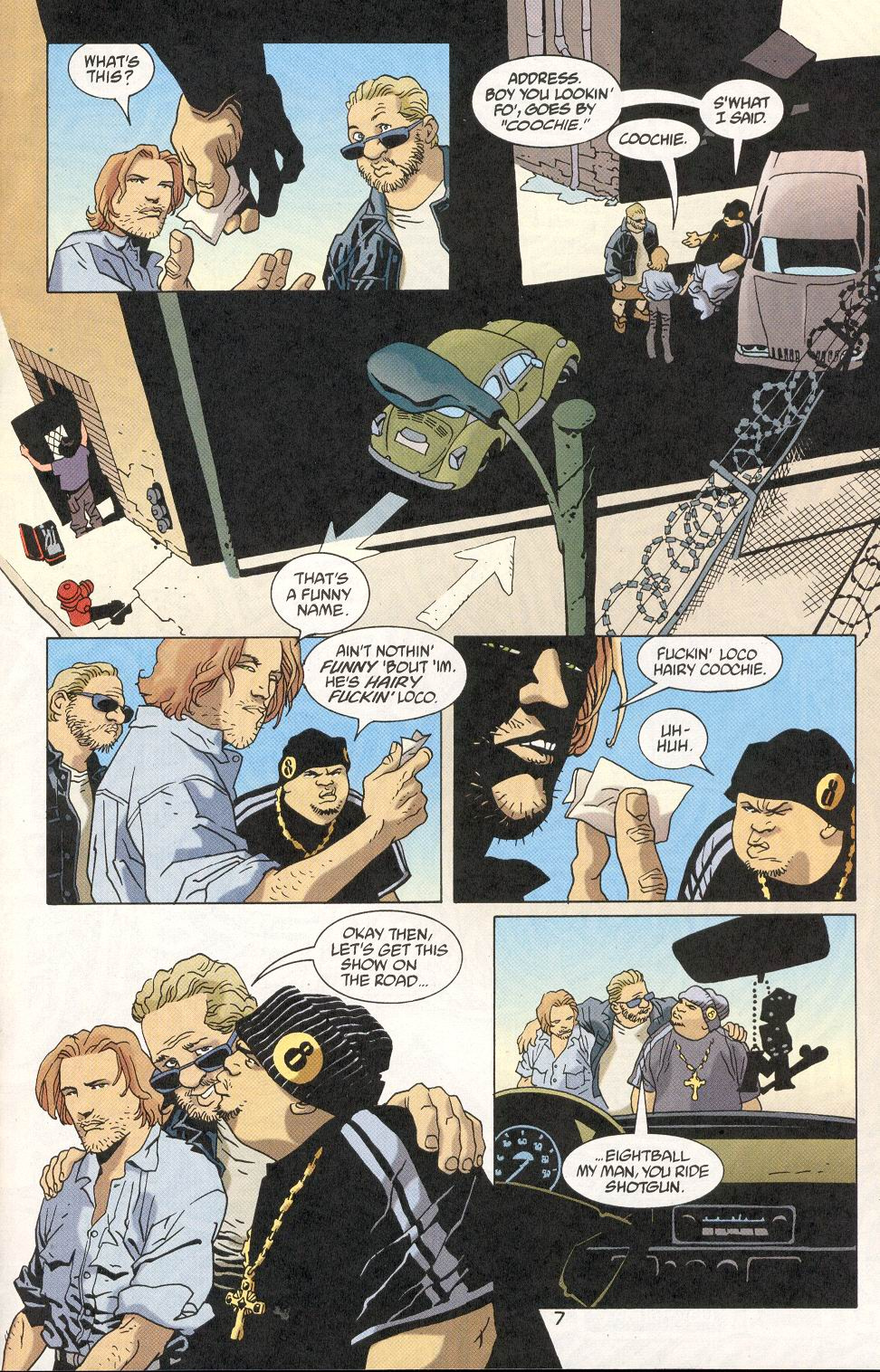Read online 100 Bullets comic -  Issue #29 - 8