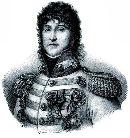 Joachim Murat, litografía, c. 1830.
