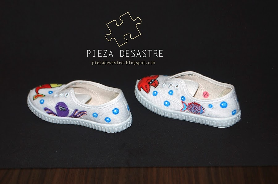 zapatillas infantiles Pieza Desastre