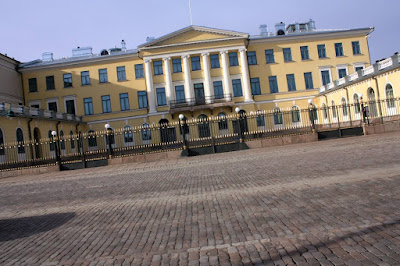 Palace of the Prime Minister of Finland in Helsinki
