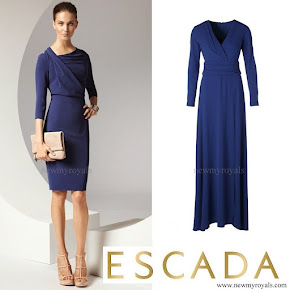Crown Princess Victoria wore ESCADA Dress