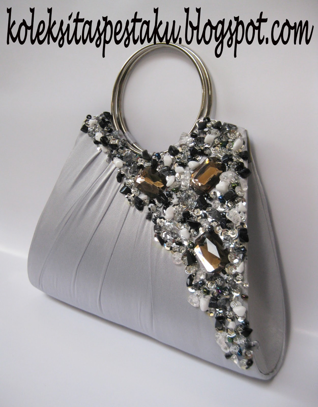 ... Clutch Bag Terbaru Bulan APril 2013 dgn Warna Silver Kode KB16 (SOLD  OUT). Terbaru Tas Pesta aa934d5daa