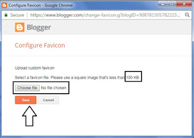 add Favicon in Blog