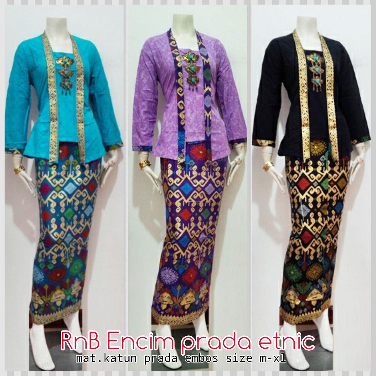Kebaya Encim Prada Etnic - Toko Baju Batik Online - Online Shop Batik ...