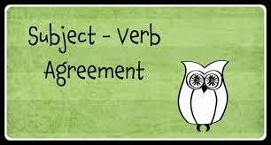 Notes on Subject - Verb Agreement in English for SSC Exams