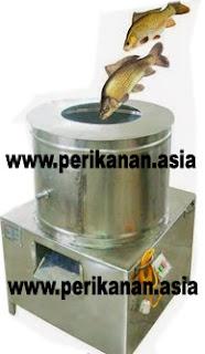 Mesin Pembersih Sisik Ikan