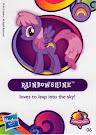 My Little Pony Wave 10 Rainbowshine Blind Bag Card