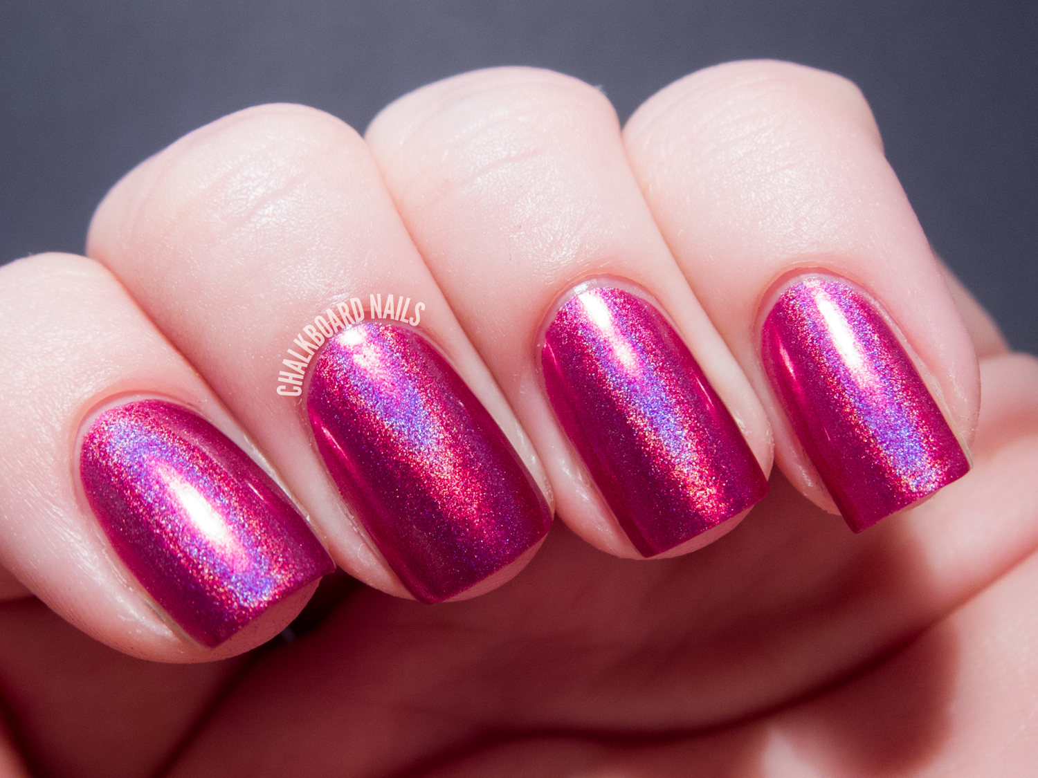 China Glaze Hologlam Collection Infra-Red nail polish