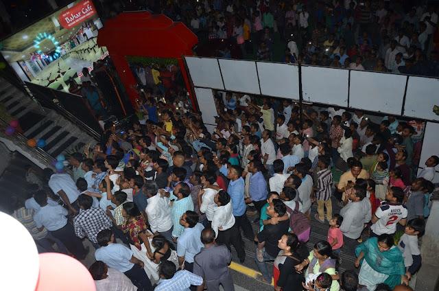 kajal agarwal launches bahar cafe