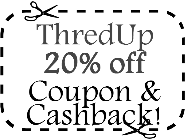 ThredUp Promo Code 20% off ThredUp.com March, April, May, June, July, August 2016 - 2017