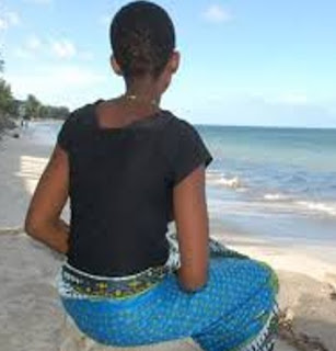 beaches are the only source of happiness in mombasa this March 2016 due to rise in temperature.