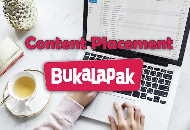 Pengalaman Kerjasama Content Placement Dari Bukalapak
