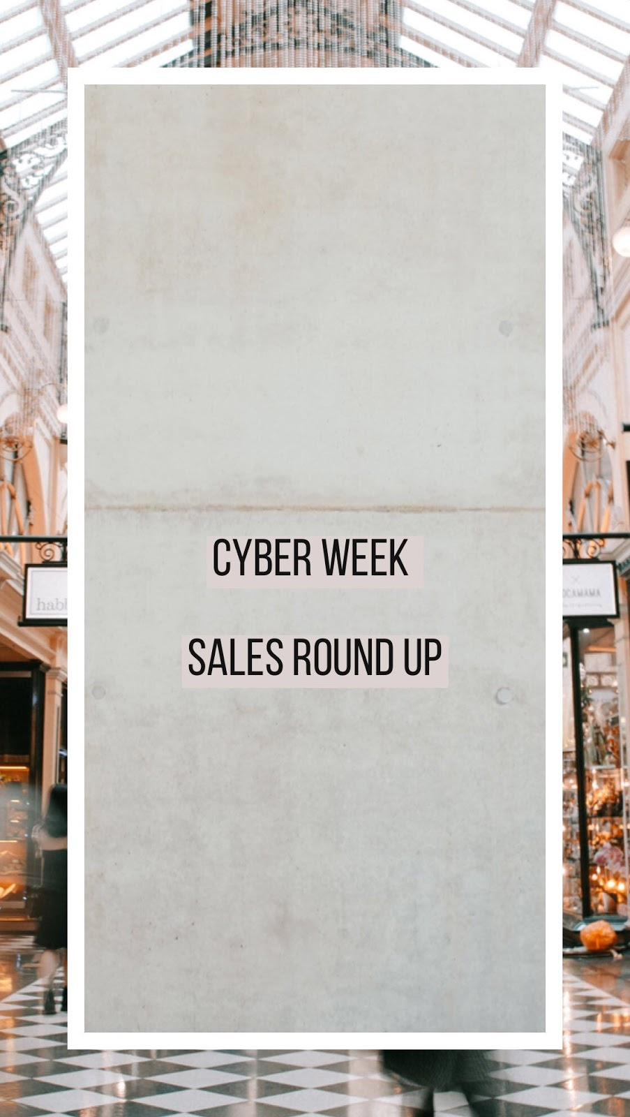 Best of CYBER WEEK DEALS