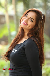 Actress Aswini Latest Stills in Black Denim Jeans  0122.JPG