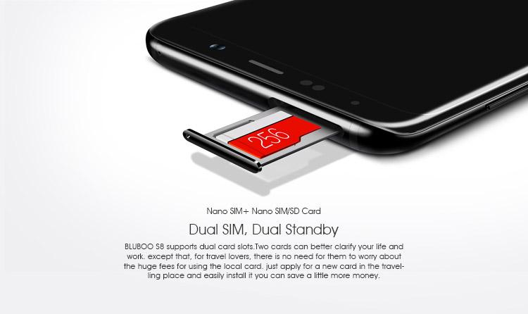 Welche Sd Karte Für S8.Tekk Droid Bluboo S8 Sd Card