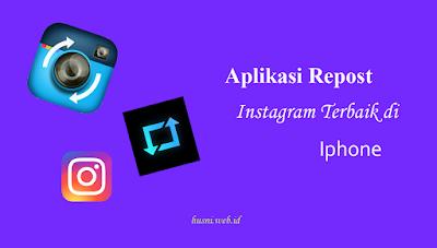 Aplikasi Repost Instagram Terbaik di Iphone