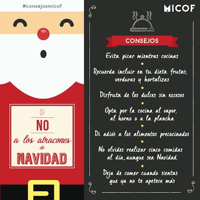 Excesos Navideños #consejosMICOF