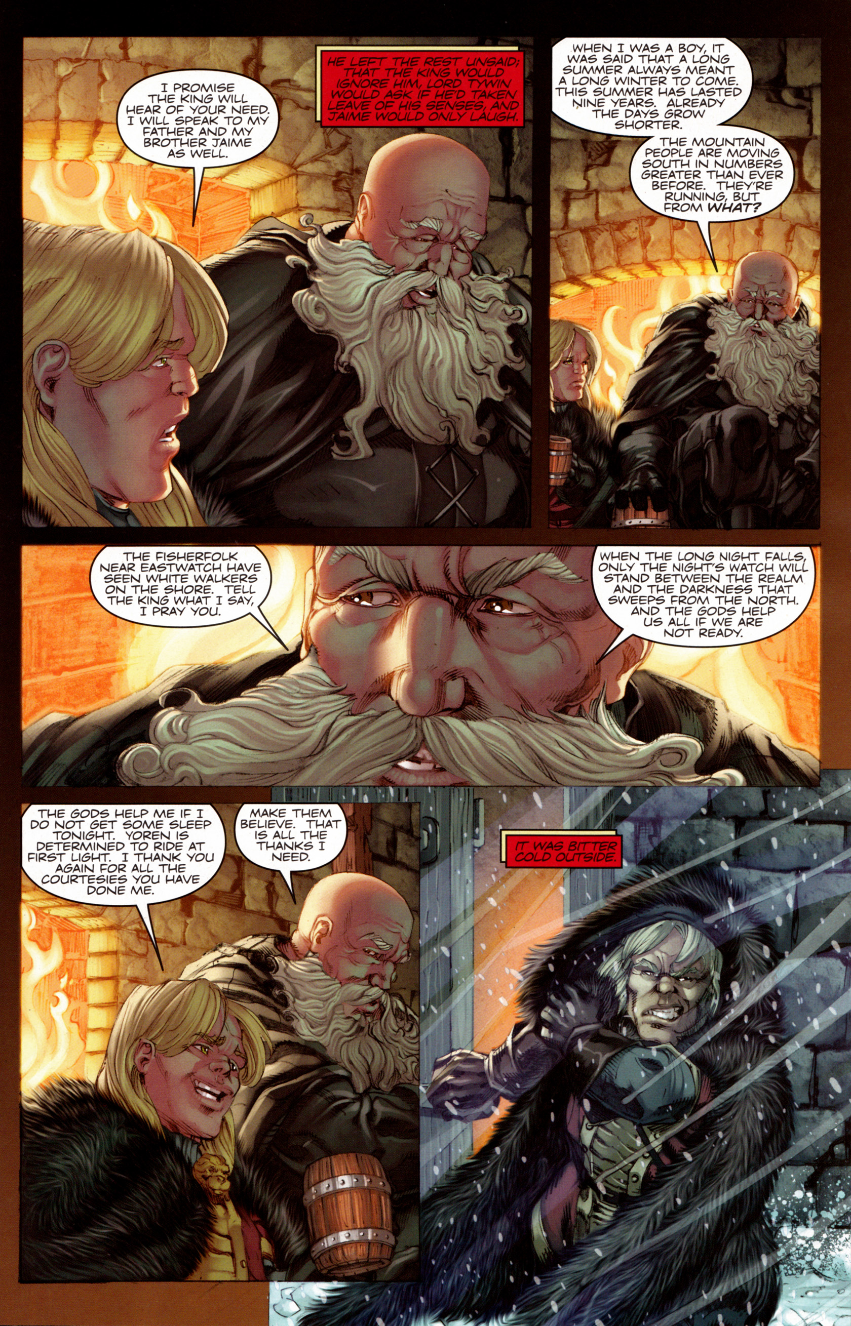 Read online A Game Of Thrones comic -  Issue #7 - 7