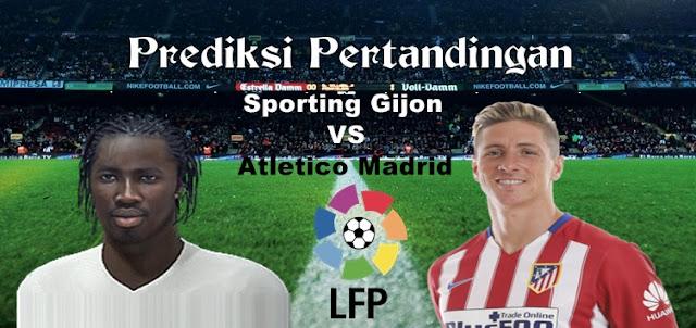 Prediksi Pertandingan Sporting Gijon vs Atletico Madrid 18 Februari 2017