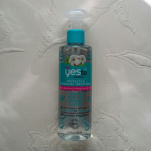 Yes to Cotton Comforting Micellar Cleansing Water: agua micelar