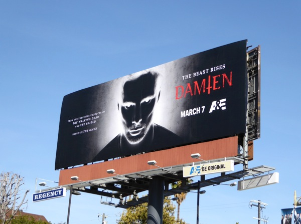 Damien season 1 billboard