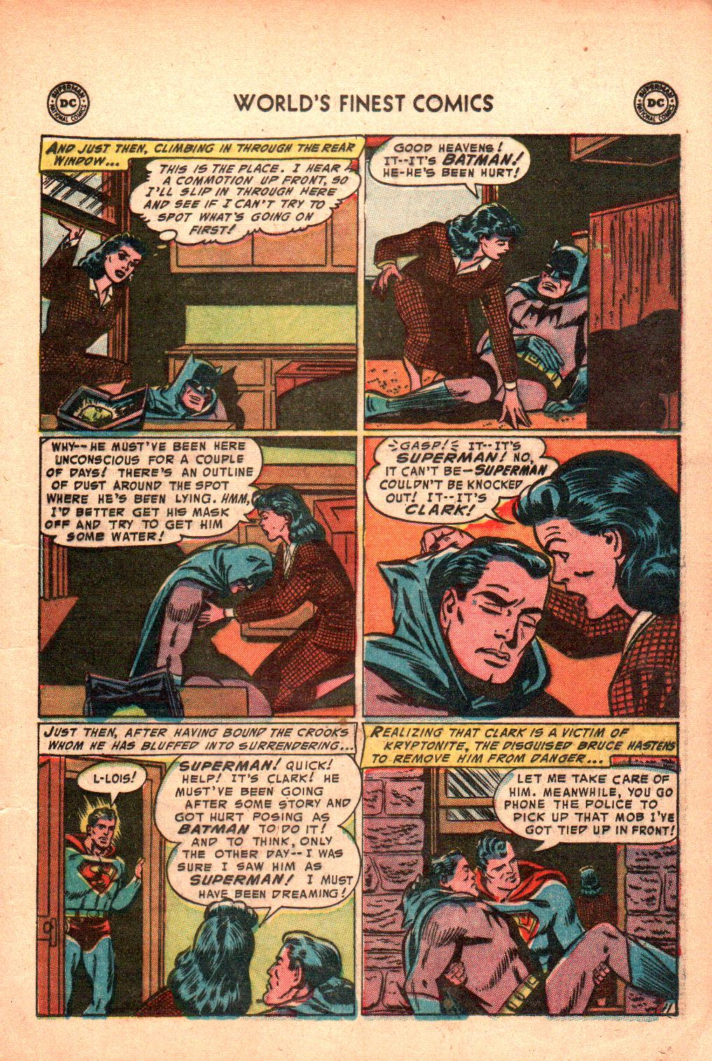 Read online World's Finest Comics comic -  Issue #71 - 15