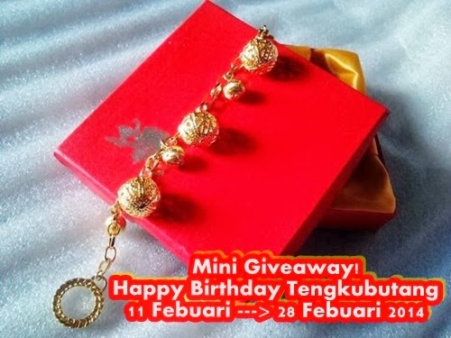 MINI GIVEAWAY! HAPPY BIRTHDAY TENGKUBUTANG