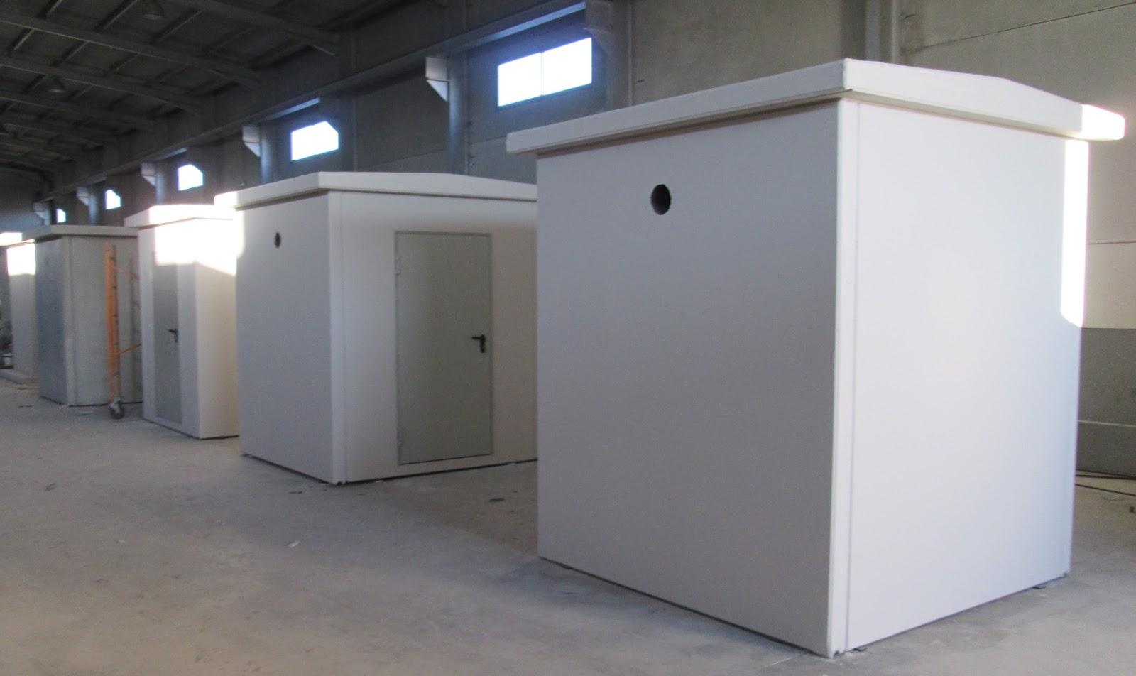 Casetas grandes y peque as de hormig n obras naves y for Casetas prefabricadas pequenas
