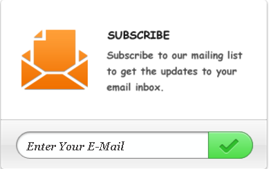 Email Subscription Widget 8