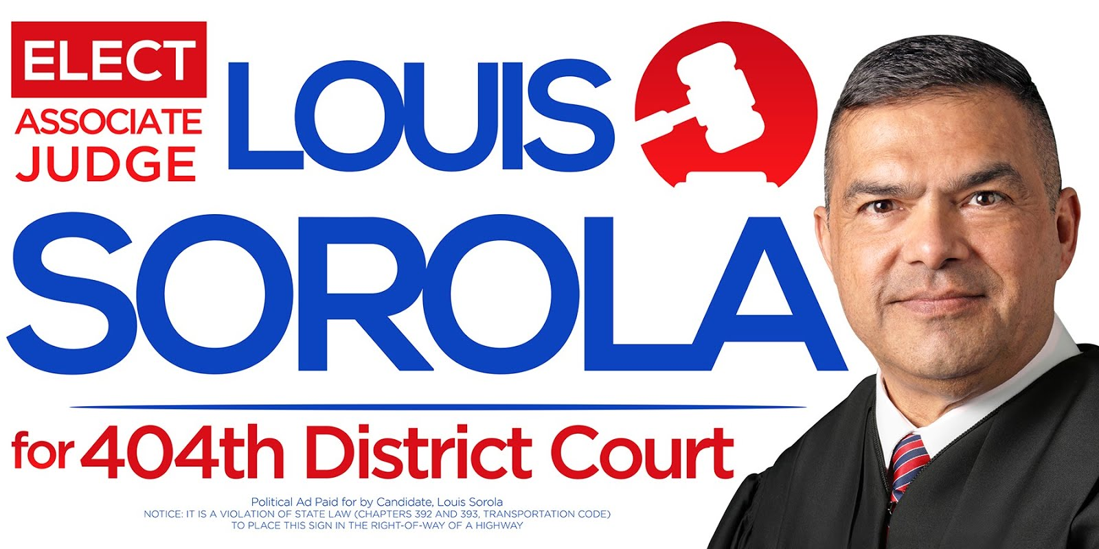 ELECT LOUIS TO THE 404TH