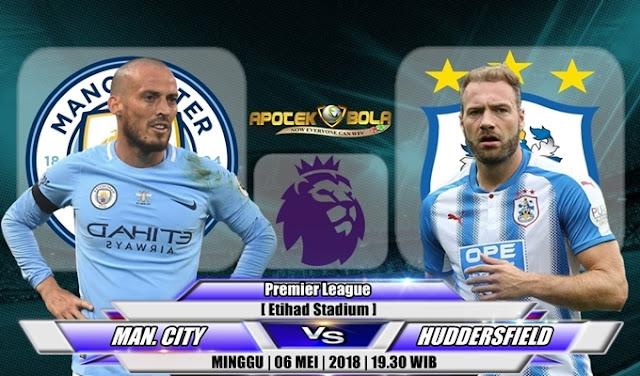 Prediksi Manchester City vs Huddersfield 06 Mei 2018