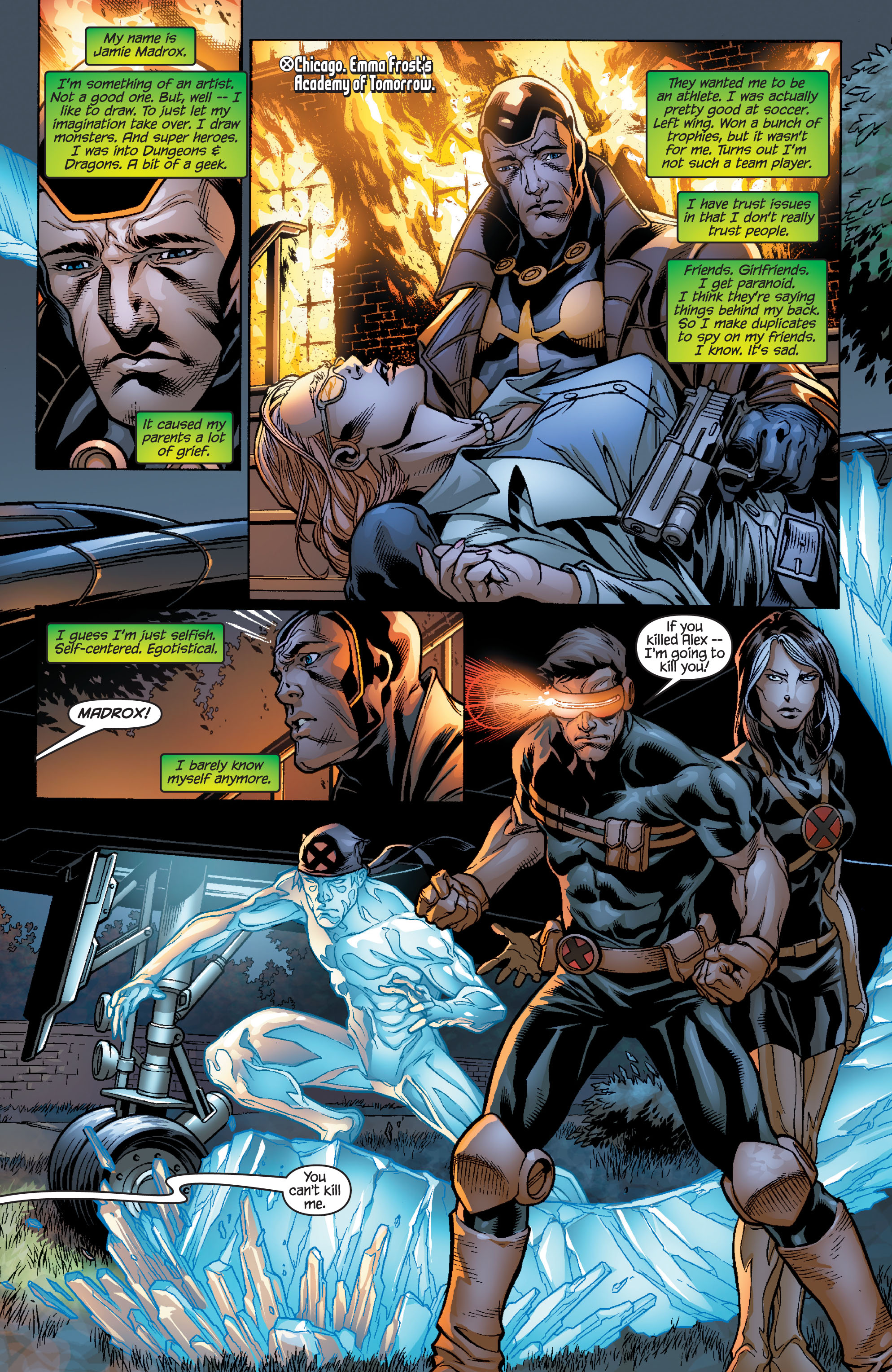 Read online Ultimate X-Men comic -  Issue #100 - 9