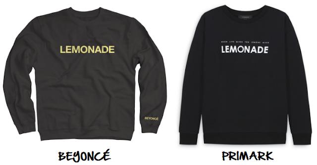 clones 2016 sudadera lemonade beyoncé primark