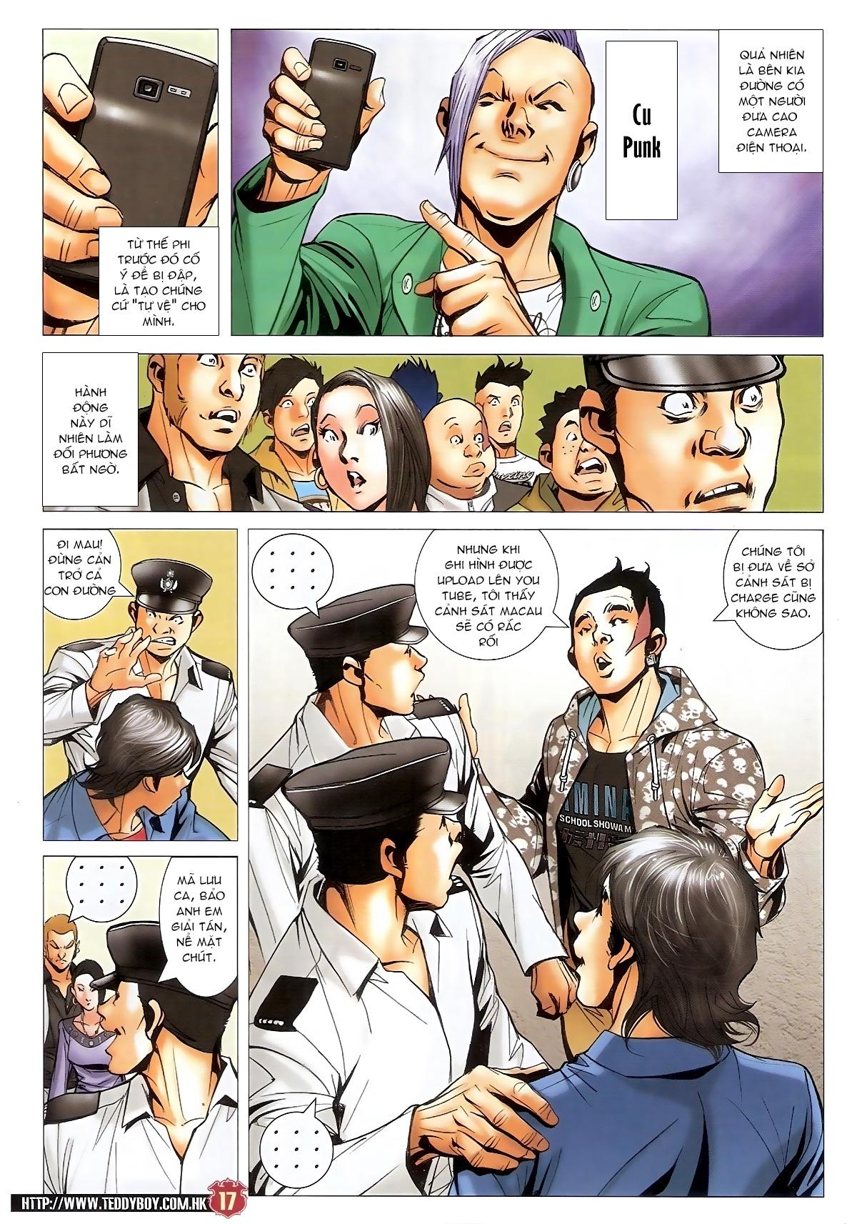 Người Trong Giang Hồ - Chapter 1567: Chơi bẩn - Pic 16