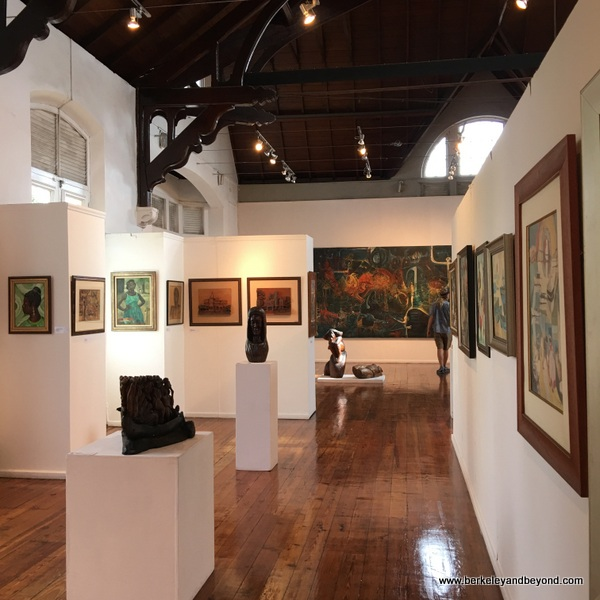 art gallery at The National Museum & Art Gallery of Trinidad & Tobago in Port of Spain, Trinidad