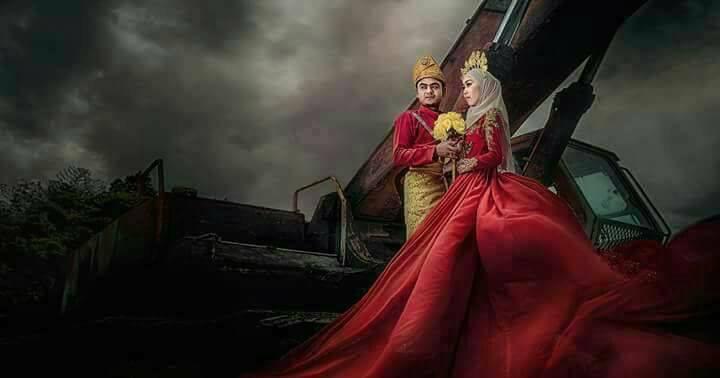 busana pengantin sewa