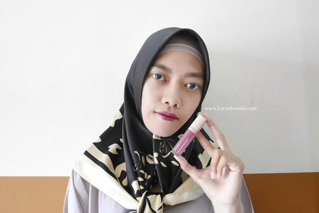 Bold look Wardah Instaperfect Mattesetter Lip Matte Paint