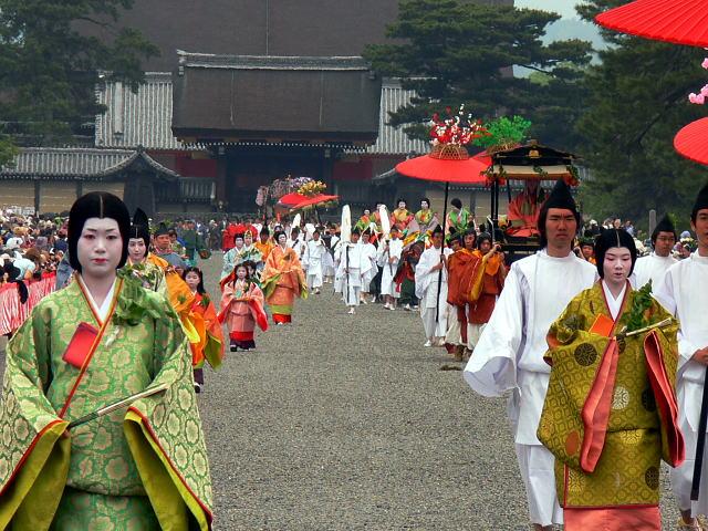 Aoi Matsuri in Kyoto, the world's oldest festival