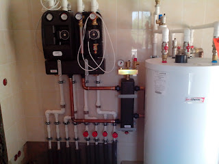 Обвязка бойлера и коллекторов системы отопления
