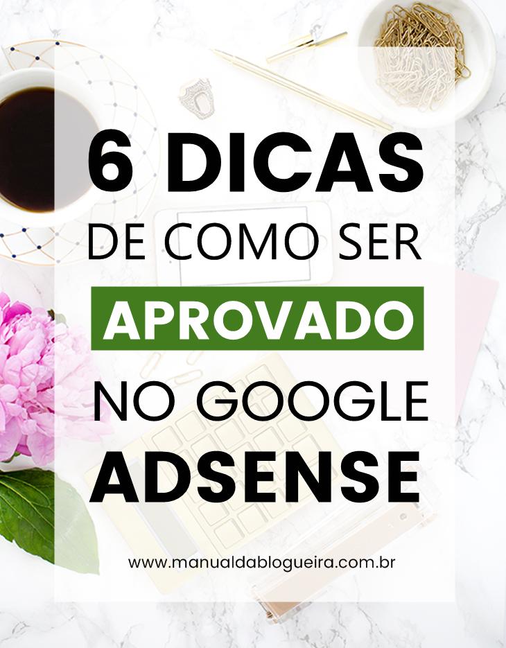 aprovado no Google Adsense