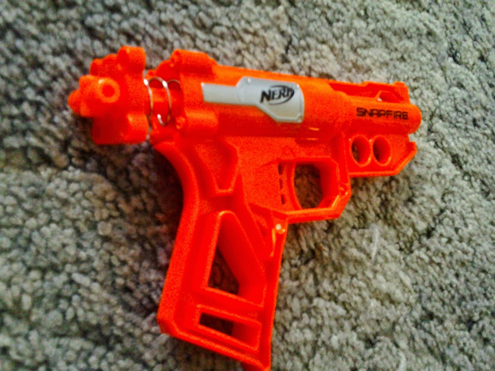 Buffdaddy Nerf: Nerf Snapfire (2015) Review and Modification